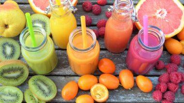 bio koktajle z eko warzyw i owoców